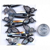 MOTION BUTTERFLY DARK GREY STEEL HAIR CLIP