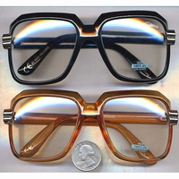 4cccd38cad 80 S FASHION CAZELLE STYLE CLEAR LENS GLASSES-HOT SELLER