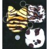 FUZZY CUTE ANIMAL COIN KEYCHAIN BAG(PURSE)