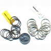 SPRING WIRE METAL RINGS,