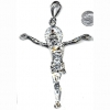 JESUS CHRIST IN SILVER NECKLACE