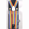 RAINBOW STRIPE SUSPENDERS