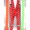 BIRD PRINT SUSPENDERS IN 6 COLORS