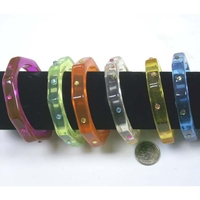 6 SIDED BRACELET WITH GEMS