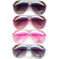 AVIATOR SUNGLASSES IN COOL COLORS  RETRO LOOKING TOO