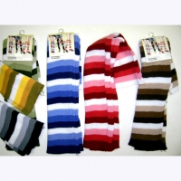 STRIPE BASIC LEGWARMERS, 6 COLORS