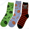 SKULL SOCKS ASST COLORS AND PRINTS VERSION #2