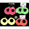 CLASSIC SHAPE EARRINGS  4 NEON COLORS