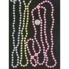 48 INCH, 3 COLORS PEARL NECKLACE