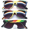 BLUES BROTHERS RASTA COLORS SUNGLASSES