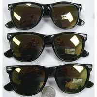 BLUES BROTHER REDDISH REVO LENS SUNGLASSES