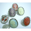 CAMEO RINGS IN PASTEL COLORS