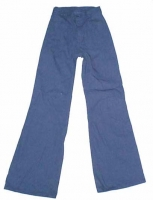 BELL BOTTOMS DENIM CLASSIC 60'S  sizes 28w and 32 w only