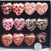 ANIMAL PRINTS HEART SHAPE REAL PRETTY BIG RING