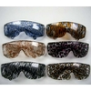 ANIMAL PRINTS COVERED WILD  LADY POPSTAR SUNGLASSES