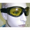 GOGGLE SUNGLASSES LARGE SIZE WITH SNAP ON FRONT DECOR