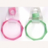 8 SIDED BANGLE W/ RING  5 COLORS