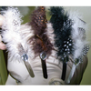 FEATHER AND 1 GEM HEADBAND