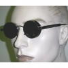 STEAMPUNK LENNON BRONZE & BLACK FRAMES  SPRING ON SIDE GLASSES