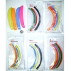 BANANA 4 PACK HAIR CLIPS IN ASSORTED COLORS