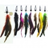 FEATHER HAIR CLIP#002