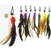 FEATHER HAIR CLIP #004