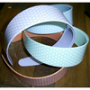 PLASTIC HEADBAND COLORS & WHITE DOTS