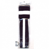 80'S TERRY CLOTH SET IN BLACK & WHITE STRIPE