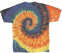 TYE DYE SHIRTS SIZES S-2XL