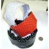 POLKA DOT WIDE HEADBANDS