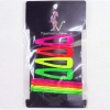 NEON COLOR HAIR CLIPS AND BOBBIE PINS