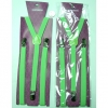 GREEN THIN SUSPENDERS