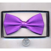 BOW TIE ALL PURPLE