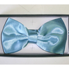BOW TIE ALL TURQUOISE COLOR