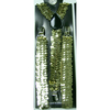 SEQUIN GOLD SUSPENDERS