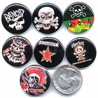 SKULL SMALL BUTTONS , ALOT OF STYLES