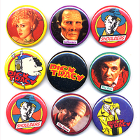 DICK TRACY BUTTONS FROM MADONNA MOVIE