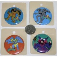 POWER RANGER BUTTONS ONLY BAD GUYS LEFT