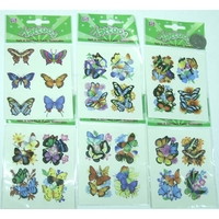 TATTOOS ASSORTED BUTTERFLYS
