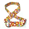 POLKADOT BELT  WITH COLORFUL DOTS- ROUND BUCKLE