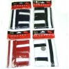 80&#39S TERRY CLOTH SWEAT BANDS IN BLACK,NAVY,RED, & WHITE