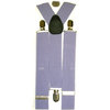 WIDE SUSPENDERS LAVENDER COLOR