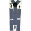 WIDE SUSPENDERS  GREY COLOR,
