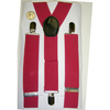 WIDE SUSPENDERS, FUCHIA COLOR