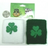 SHAMROCK WRSITBANDS SWEATBANDS, 2 IN SET