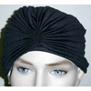 TURBIN STYLE HEAD WEAR RETRO LOOK  BLACK AND WHITE