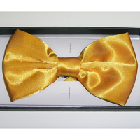 BOW TIE, YELLOW COLOR WITH BOX