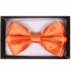 BOW TIE, ORANGE COLOR COMES IN DISPLAY BOX