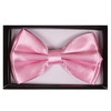 BOW TIE LIGHT PINK COLOR, SATIN, COMES IN DISPLAY BOX