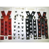SKULLS & CROSSBONES WITH STARS SUSPENDERS